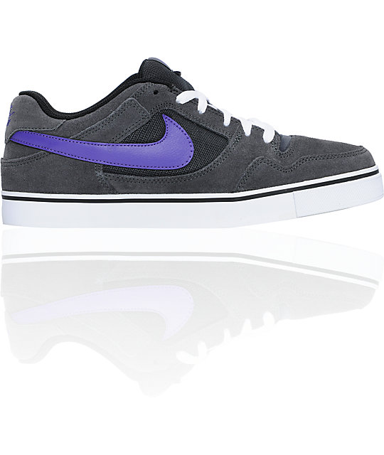 Nike SB Zoom P-Rod 2.5 Anthracite & Purple Skate Shoes