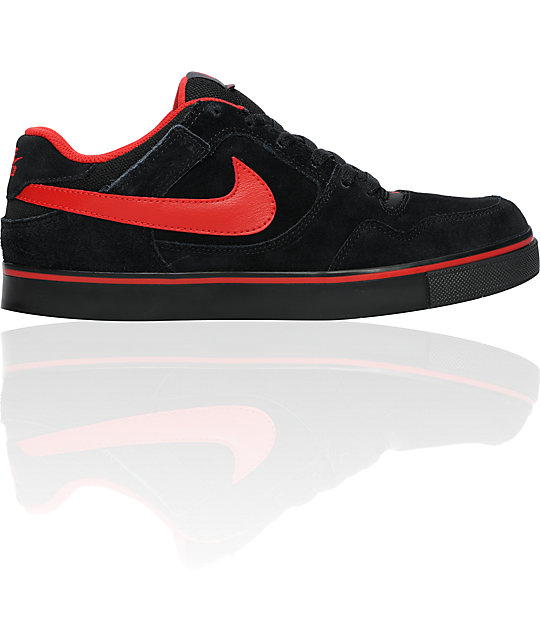 Nike SB Zoom P-Rod 2.5 Black & Red Shoes