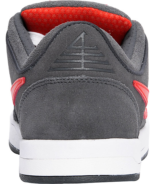 Nike SB Zoom P-Rod 4 Anthracite & Red Shoes