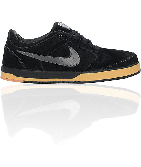 Nike SB Zoom P-Rod 4 Black & Dark Charcoal Shoes