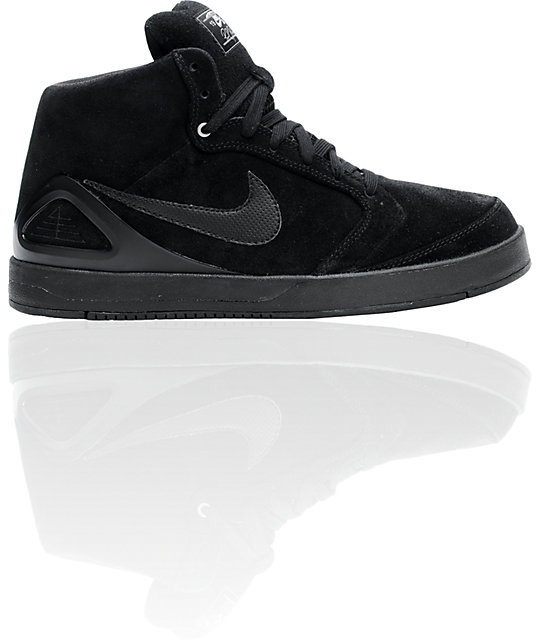 Nike SB Zoom P-Rod 4 High Black Shoes