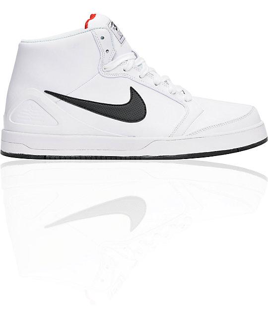 Nike SB Zoom P-Rod 4 High White & Black Shoes