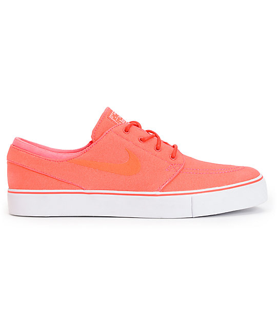 Nike SB Zoom Stefan Janoski Atomic Red & White Skate Shoes