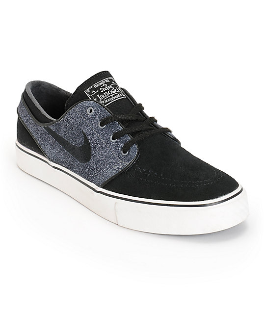 low priced b1981 6c4d2 nike sb janoski black and gray