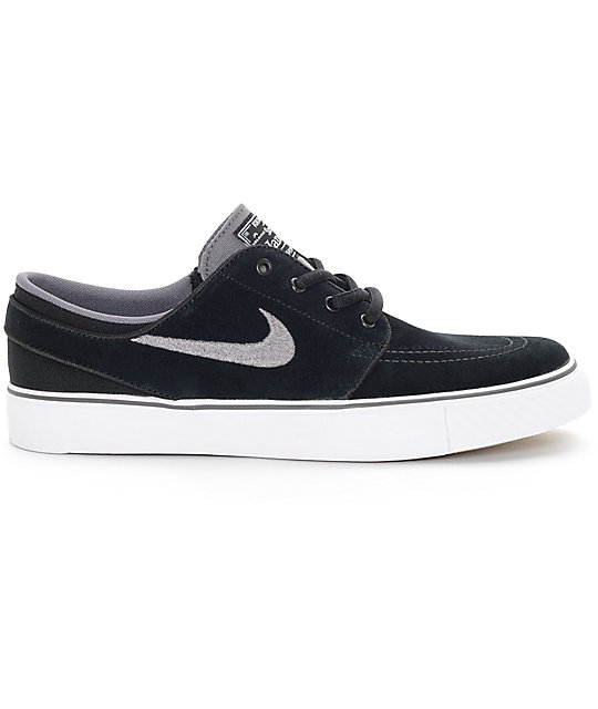 nike sb zoom stefan janoski black light graphite and