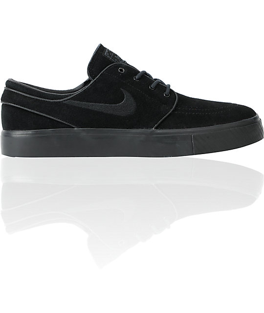 Nike SB Zoom Stefan Janoski Black & Anthracite Shoes