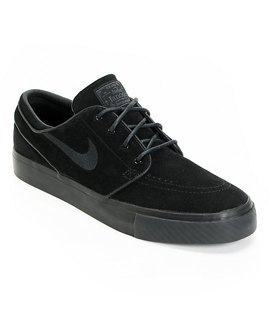 Nike SB Zoom Stefan Janoski Black & Anthracite Shoes