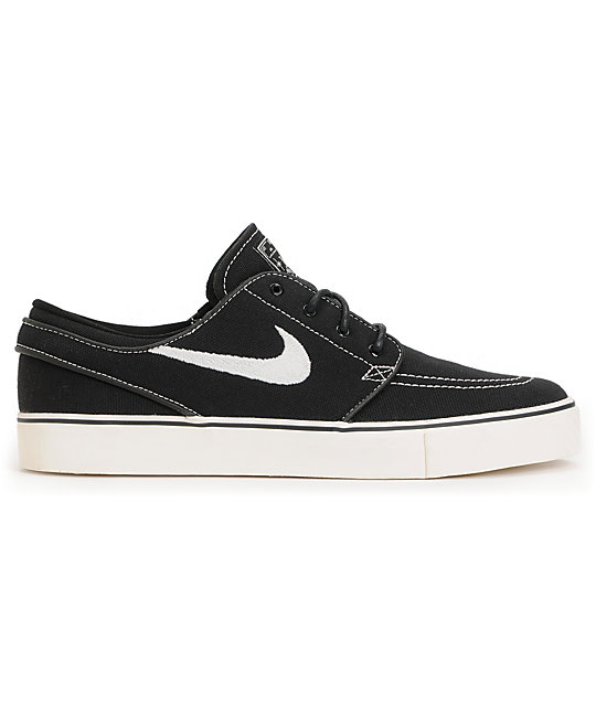 Nike SB Zoom Stefan Janoski Black & Sail Shoes