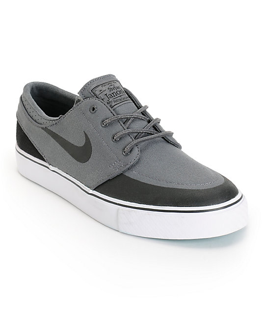 Nike SB Zoom Stefan Janoski PR SE Grey, Black & Turbo Green Shoes