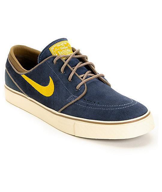 Nike Zoom Stefan Janoski Suede Shoe