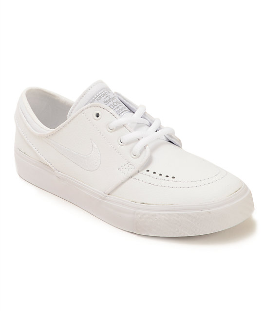 Nike Air Force 1 I have owned the Nike Air Force 1 '07 in the all white nike white leather shoes for men colorway for three years. I purchased this shoe with the intention of using it for general wear at college as well as at home, Minneapolis.