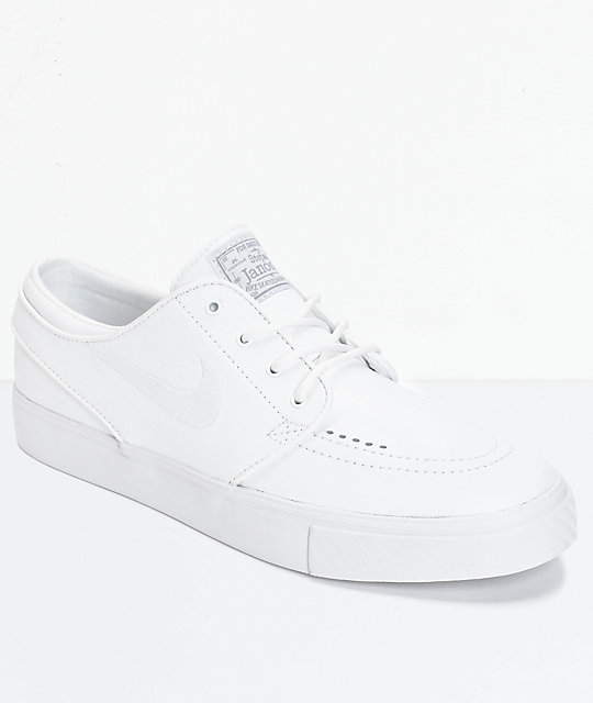 Janoski Shoes White