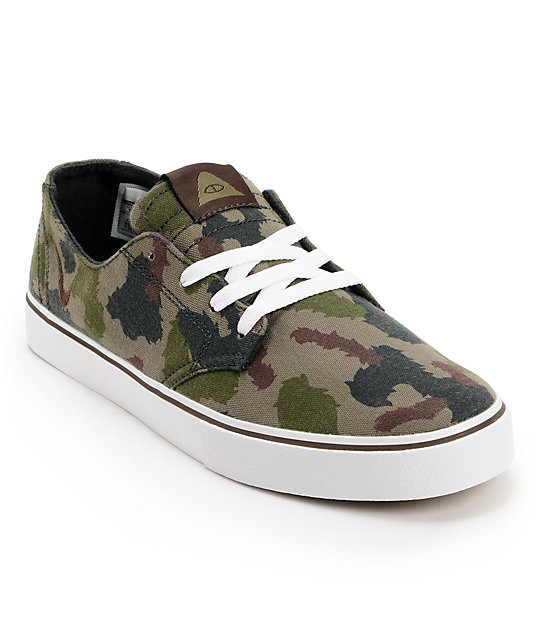 Nike SB x Poler Braata LR Poler Green Camo Canvas Shoes