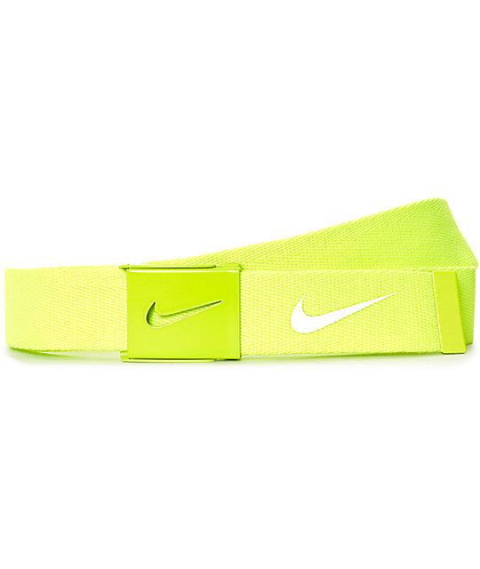 Nike Tech Essentials Volt Light Green Spark Web Welt