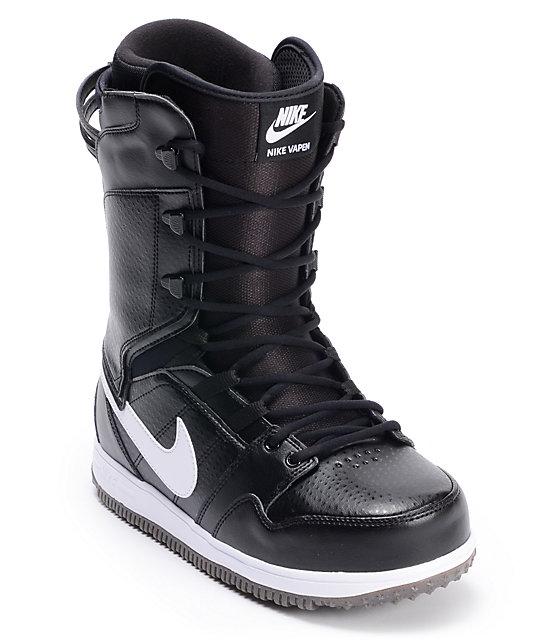Nike Vapen Black & White Snowboard Boots