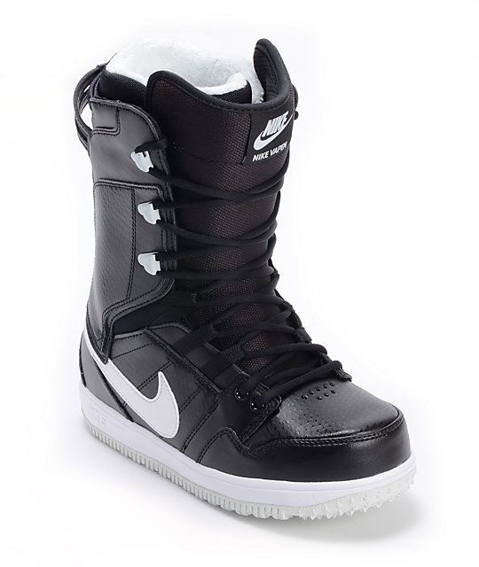 Nike Womens Vapen Black & White Snowboard Boots