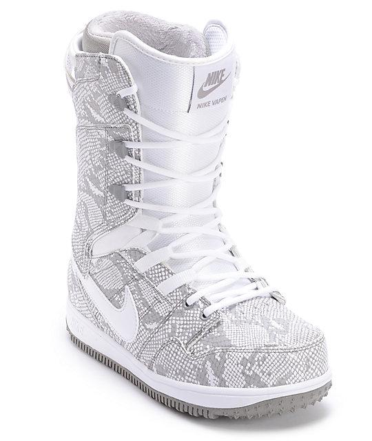 Nike Womens Vapen White Snowboard Boots