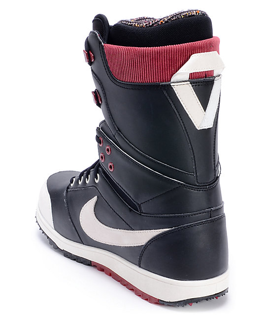 Nike Zoom Force Danny Kass Sail & Red Snowboard Boots