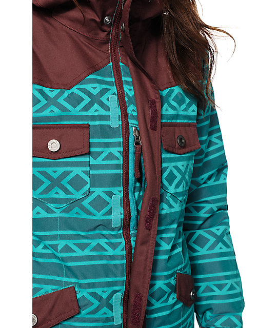 Nikita Mayon Tribal 10K Snowboard Jacket
