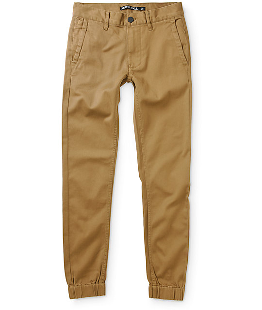 Ninth Hall Boys Henderson Twill Jogger Pants at Zumiez : PDP
