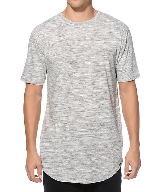 Ninth Hall High Rise Space Dye Long T-Shirt at Zumiez : PDP
