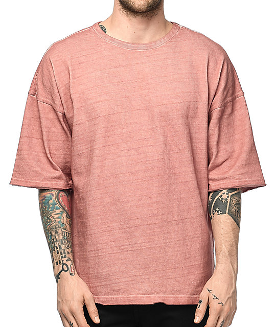 Ninth Hall Oversized Cameo Brown T-Shirt | Zumiez