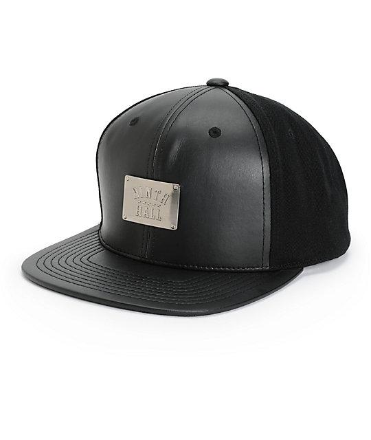 Ninth Hall Plaque Snapback Hat