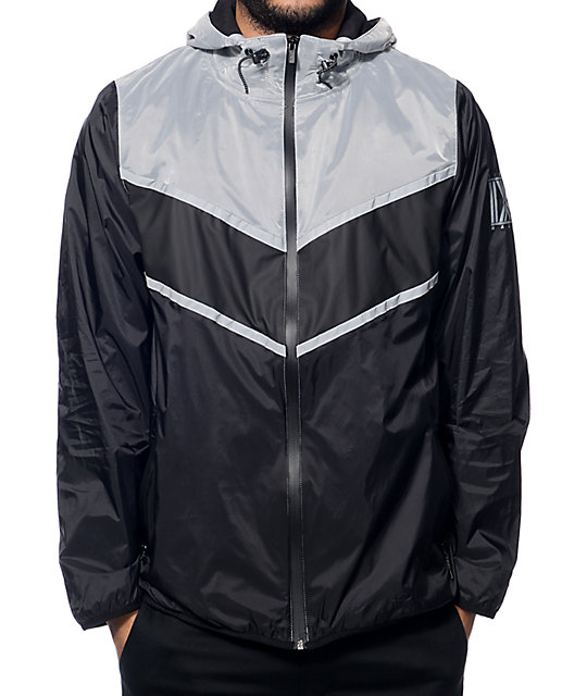 Ninth Hall Resource Black Nylon Windbreaker Jacket at Zumiez : PDP