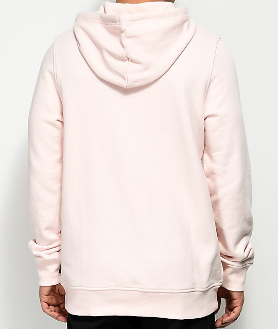 Ninth Hall Shatter Pink Hoodie