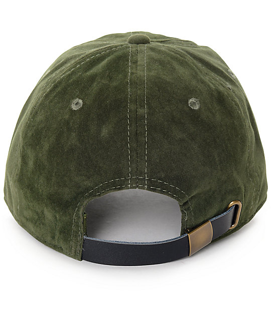 Ninth Hall Trifecta Forest Green Baseball Hat