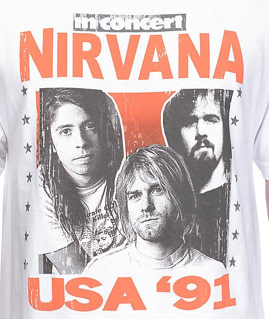 Nirvana T Shirt Mens