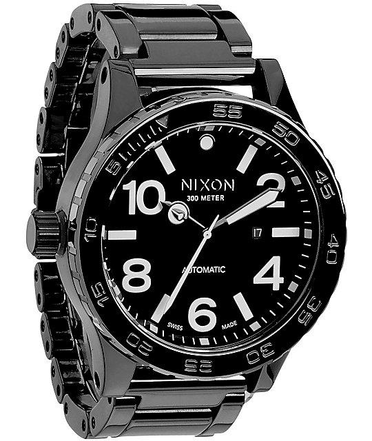 Nixon 51-30 All Black Ceramic Watch