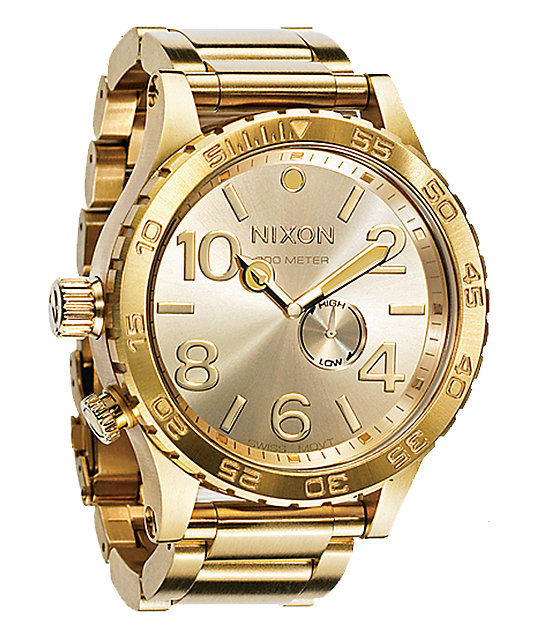 Gold Watch Men