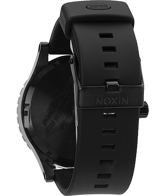 Nixon 51-30 PU All Black & Lime Watch
