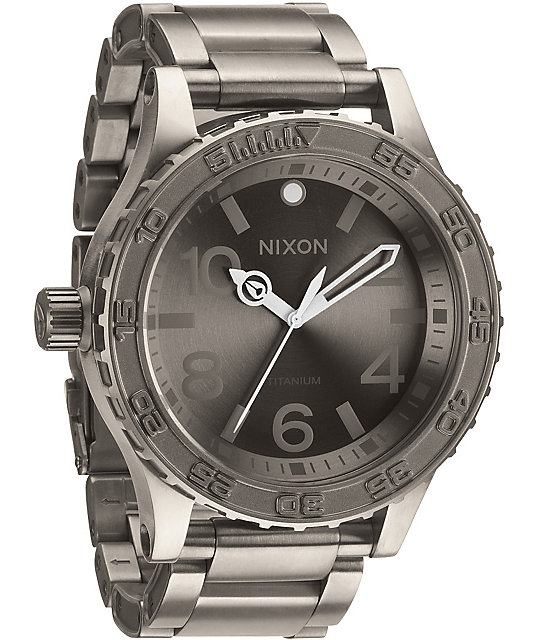Nixon 51-30 TI Titanium Watch