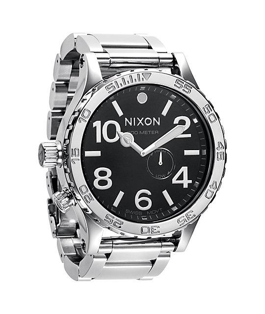 Nixon 51-30 Tide High Polish Black Watch