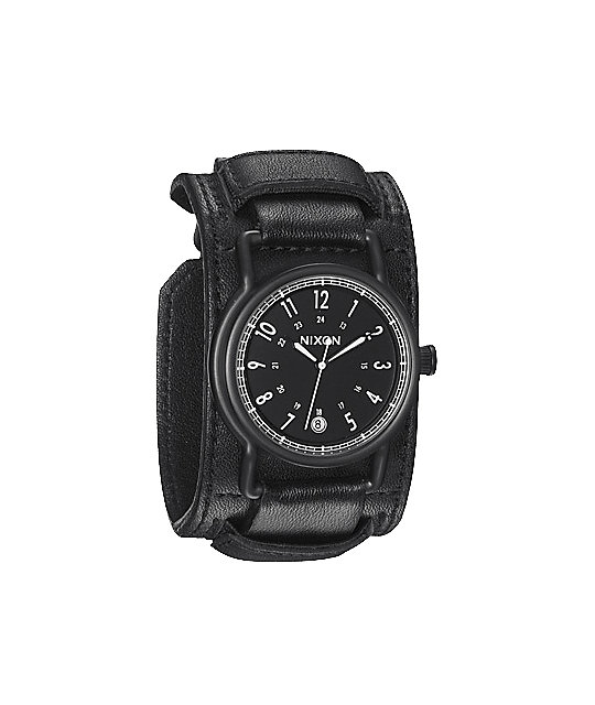 Nixon Axe All Black Analog Watch