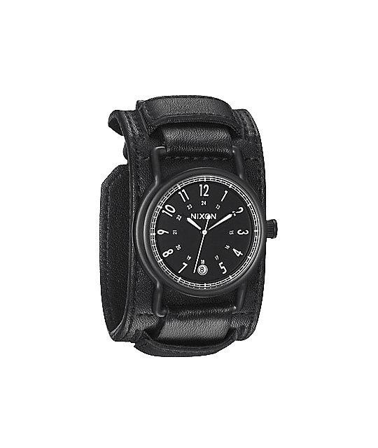 Nixon Axe All Black Analog Watch