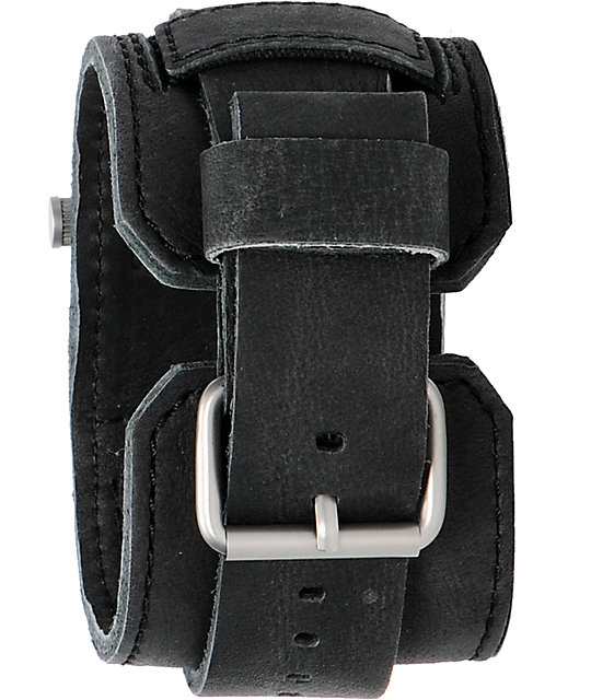 Nixon Axe Black & Silver Analog Watch