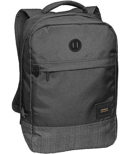 Nixon Beacons Black & Black Wash 18L Backpack