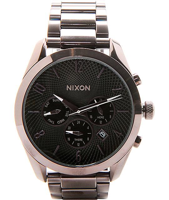 Nixon bullet chronograph analog watch at zumiez pdp for Watches zumiez