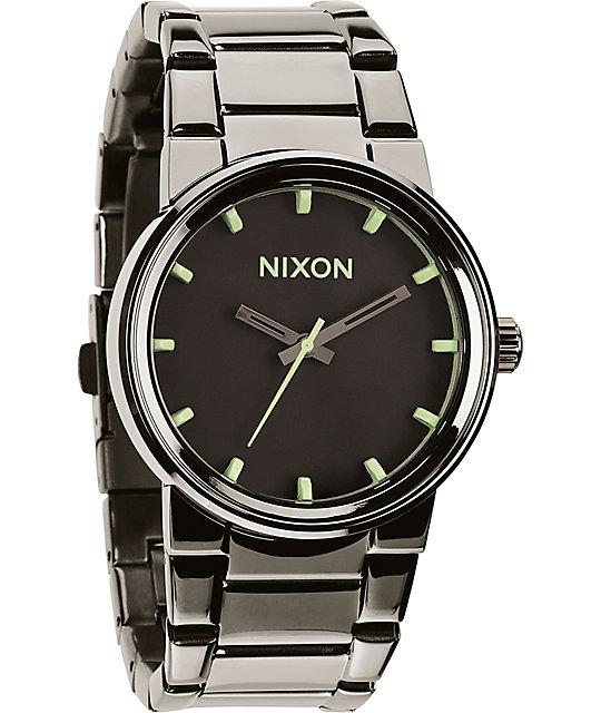 Nixon cannon analog watch zumiez for Watches zumiez