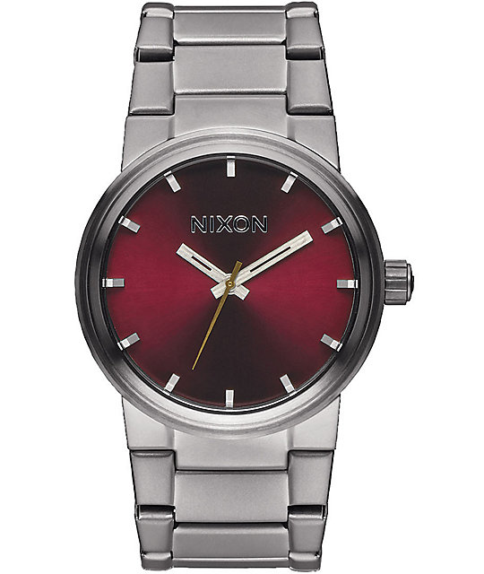 Nixon cannon analog watch at zumiez pdp for Watches zumiez