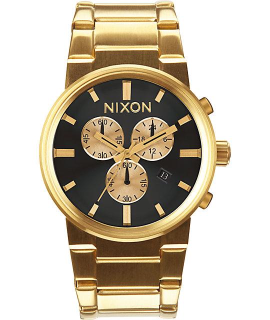 Nixon cannon chrono watch zumiez for Watches zumiez