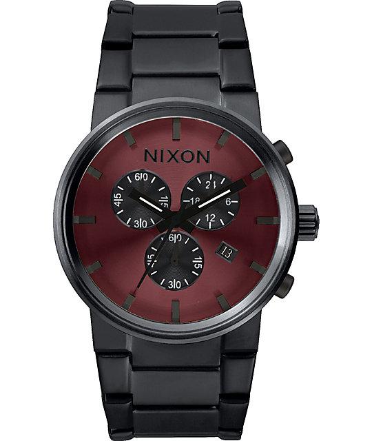 Nixon cannon chrono watch at zumiez pdp for Watches zumiez