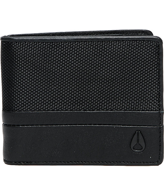 Nixon Cape Night Ops Black Bifold Wallet