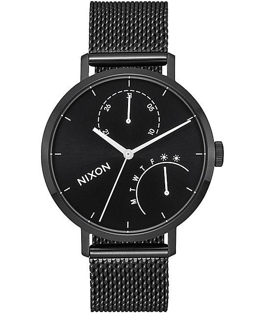 Nixon Clutch All Black & White Watch