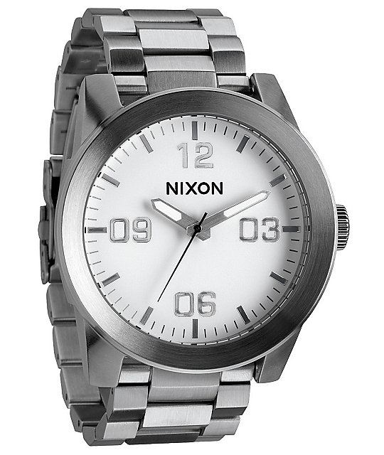 Nixon Corporal SS White Watch