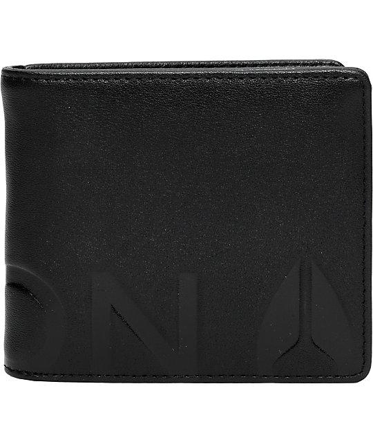 Nixon Fuller Black Bifold Wallet