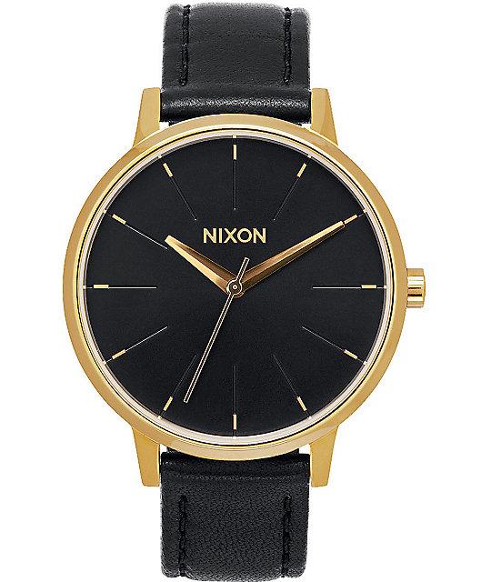 Nixon kensington leather watch zumiez for Watches zumiez